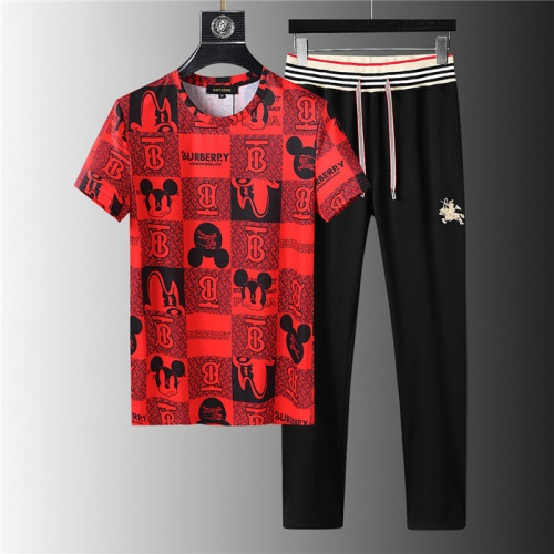 Burberry Tracksuits Short Sleeved For Men #843913