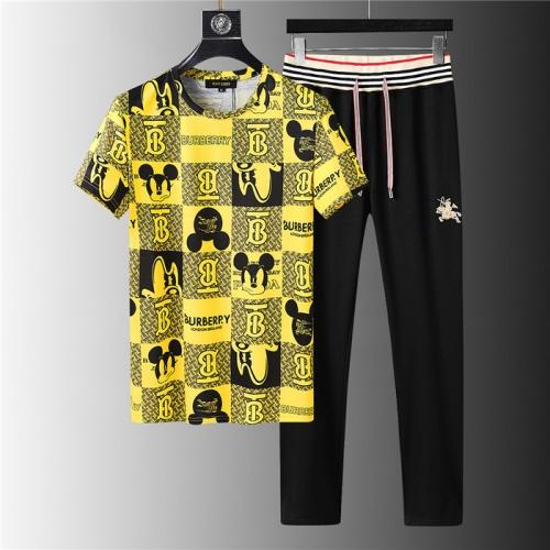 Burberry Tracksuits Short Sleeved For Men #843915