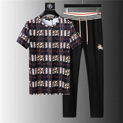 Burberry Tracksuits Short Sleeved For Men #843939