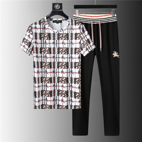 Burberry Tracksuits Short Sleeved For Men #843941