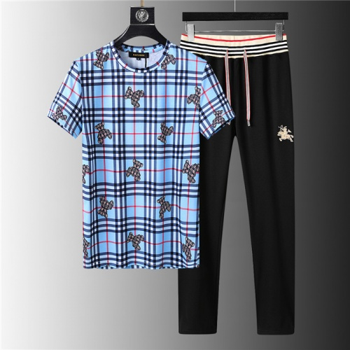 Burberry Tracksuits Short Sleeved For Men #843943