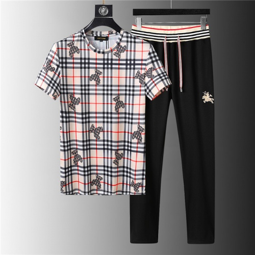 Burberry Tracksuits Short Sleeved For Men #843944