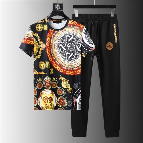 Versace Tracksuits Short Sleeved For Men #844127