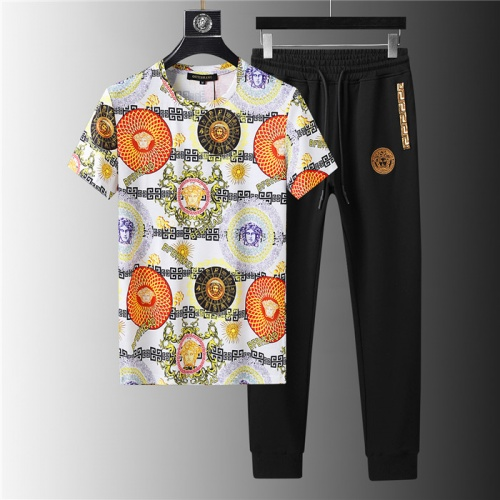 Versace Tracksuits Short Sleeved For Men #844131