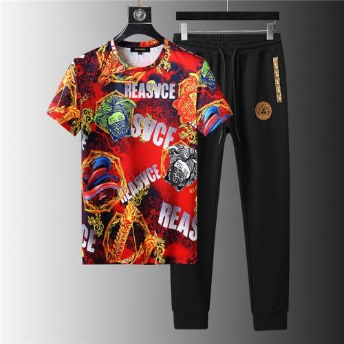 Versace Tracksuits Short Sleeved For Men #844136
