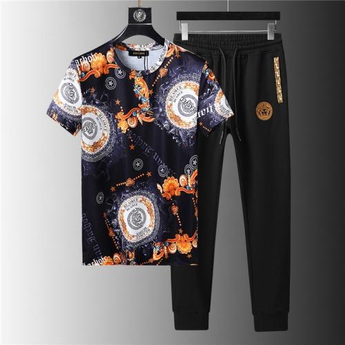 Versace Tracksuits Short Sleeved For Men #844142