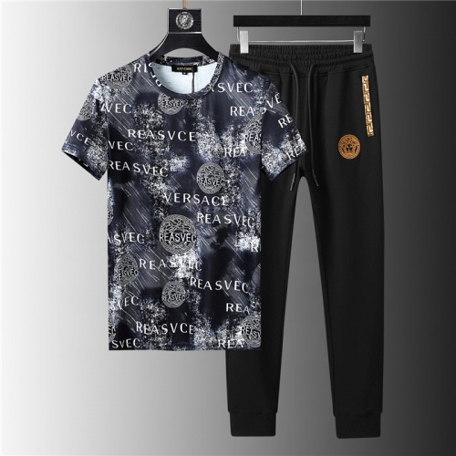 Versace Tracksuits Short Sleeved For Men #844146