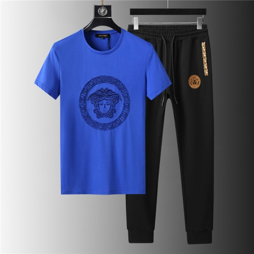 Versace Tracksuits Short Sleeved For Men #844151