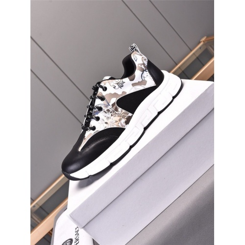 Replica Versace Casual Shoes For Men #844207 $80.00 USD for Wholesale
