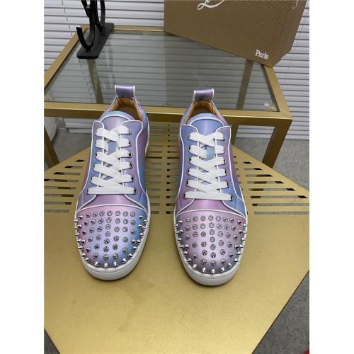 Replica Christian Louboutin Fashion Shoes For Men #844249 $98.00 USD for Wholesale