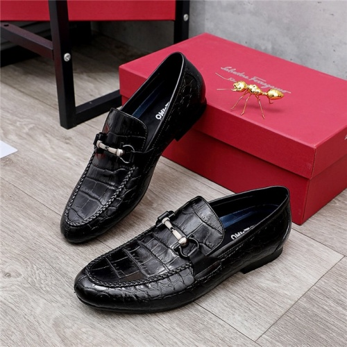 Ferragamo Leather Shoes For Men #844276