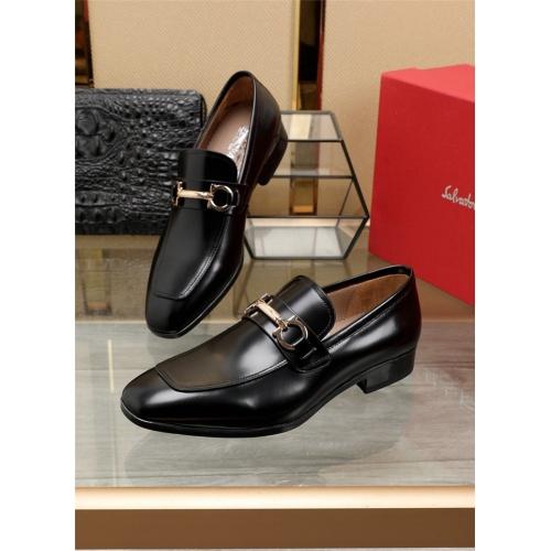 Ferragamo Leather Shoes For Men #844299