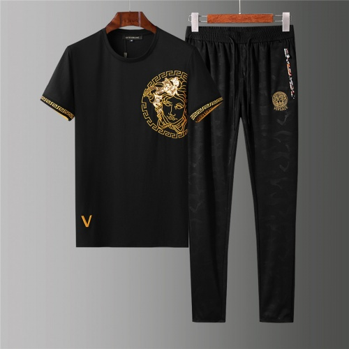 Versace Tracksuits Short Sleeved For Men #844389