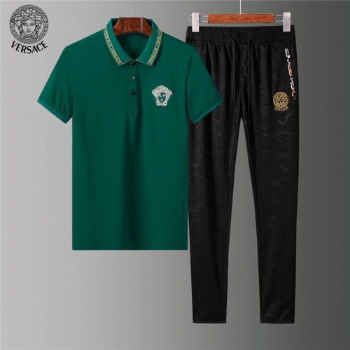 Versace Tracksuits Short Sleeved For Men #844395