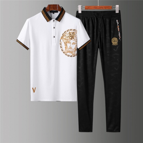 Versace Tracksuits Short Sleeved For Men #844401