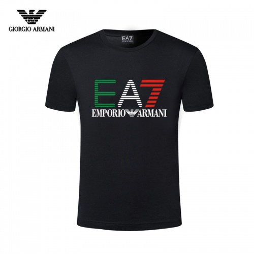 Armani T-Shirts Short Sleeved For Men #844427