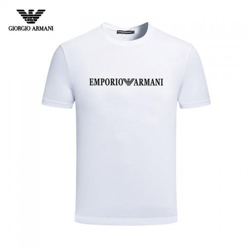 Armani T-Shirts Short Sleeved For Men #844431
