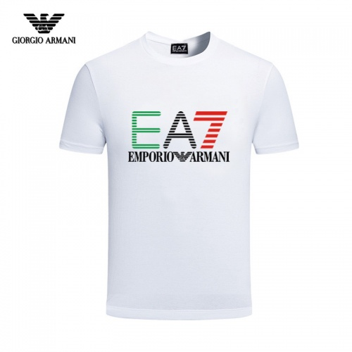 Armani T-Shirts Short Sleeved For Men #844432