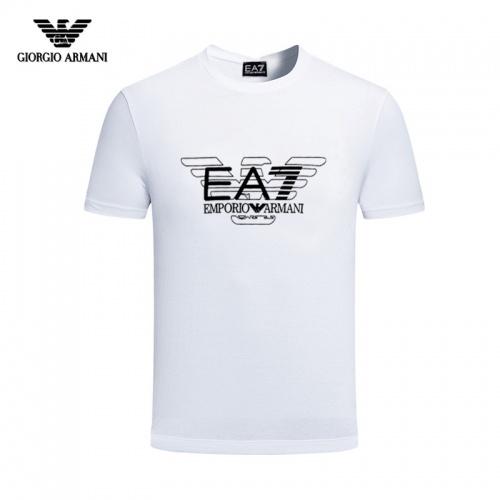 Armani T-Shirts Short Sleeved For Men #844433