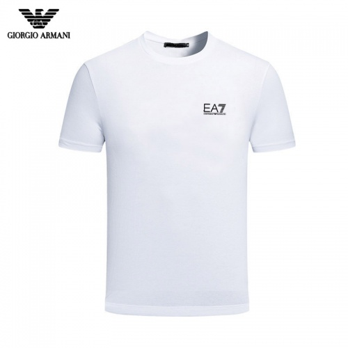 Armani T-Shirts Short Sleeved For Men #844434