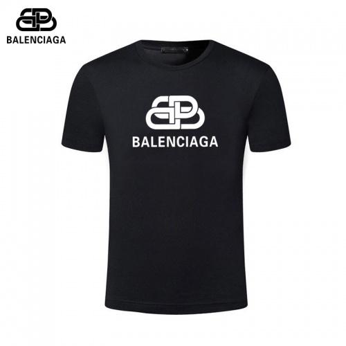 Balenciaga T-Shirts Short Sleeved For Men #844443 $25.00, Wholesale Replica Balenciaga T-Shirts