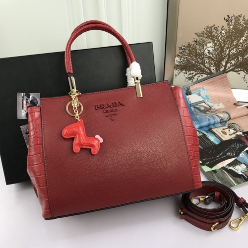 Prada AAA Quality Handbags For Women #844447