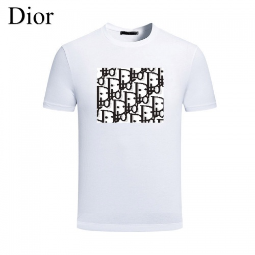Christian Dior T-Shirts Short Sleeved For Men #844455 $25.00, Wholesale Replica Christian Dior T-Shirts
