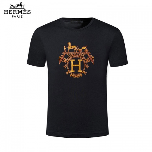 Hermes T-Shirts Short Sleeved For Men #844471
