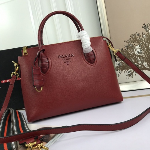 Prada AAA Quality Handbags For Women #844477