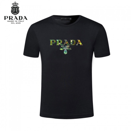 Prada T-Shirts Short Sleeved For Men #844494