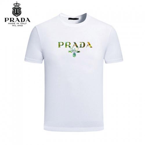 Prada T-Shirts Short Sleeved For Men #844495