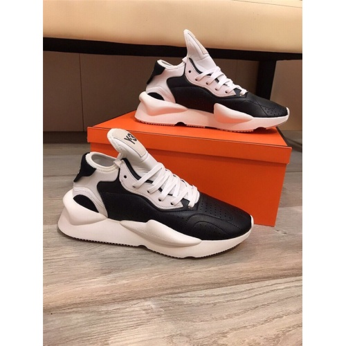 Y-3 Casual Shoes For Men #844513 $85.00 USD, Wholesale Replica Y-3 Casual Shoes