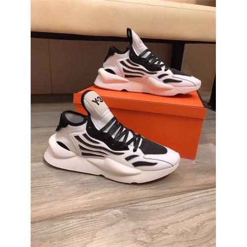 Y-3 Casual Shoes For Men #844516 $85.00 USD, Wholesale Replica Y-3 Casual Shoes