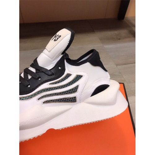 Replica Y-3 Casual Shoes For Men #844516 $85.00 USD for Wholesale