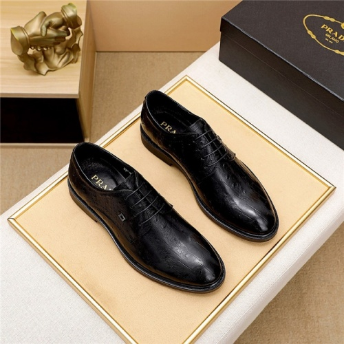 Prada Leather Shoes For Men #844927