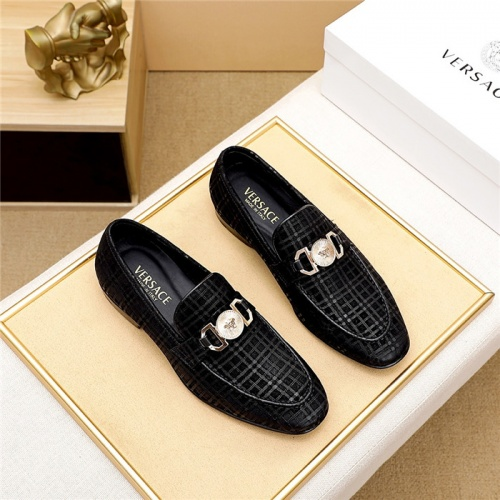 Versace Leather Shoes For Men #844929