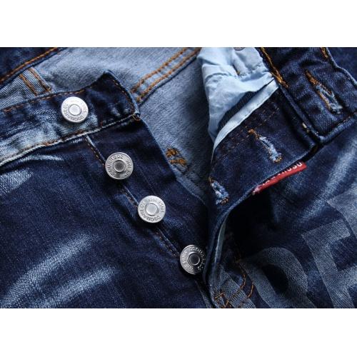 Replica Dsquared Jeans For Men #845166 $56.00 USD for Wholesale