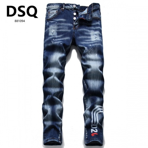Dsquared Jeans For Men #845167 $56.00 USD, Wholesale Replica Dsquared Jeans