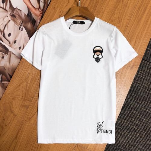 Fendi T-Shirts Short Sleeved For Men #845248