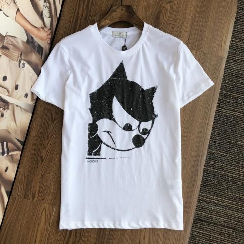 Moncler T-Shirts Short Sleeved For Men #845304