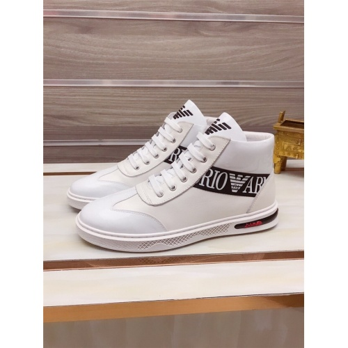 Armani High Tops Shoes For Men #845335