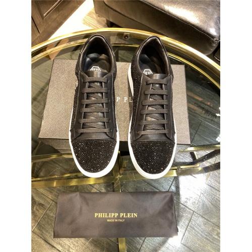 Replica Philipp Plein Shoes For Men #845337 $82.00 USD for Wholesale