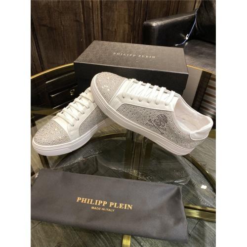 Replica Philipp Plein Shoes For Men #845338 $82.00 USD for Wholesale
