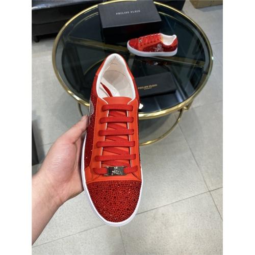 Replica Philipp Plein Shoes For Men #845339 $82.00 USD for Wholesale