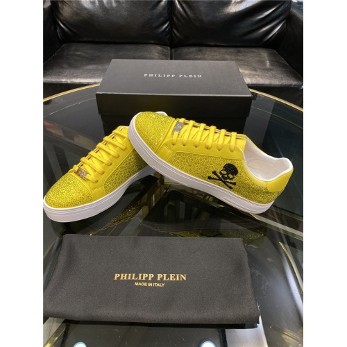 Replica Philipp Plein Shoes For Men #845340 $82.00 USD for Wholesale