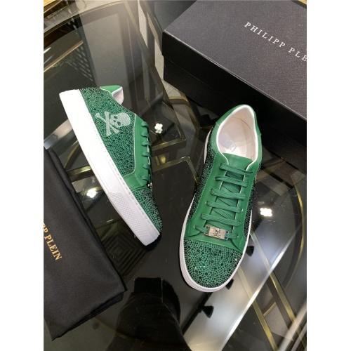 Replica Philipp Plein Shoes For Men #845341 $82.00 USD for Wholesale