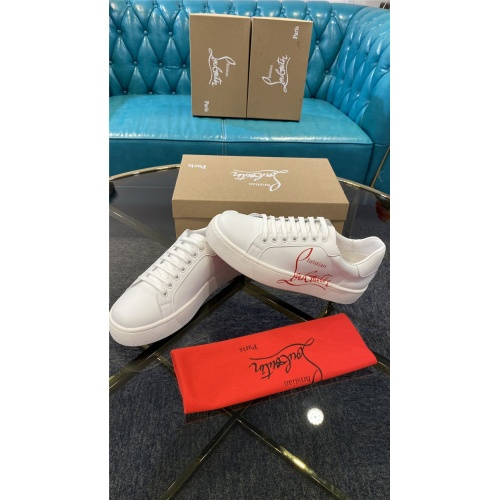 Replica Christian Louboutin Fashion Shoes For Men #845342 $82.00 USD for Wholesale