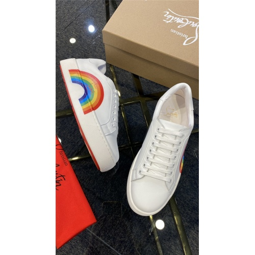 Replica Christian Louboutin Fashion Shoes For Men #845344 $82.00 USD for Wholesale