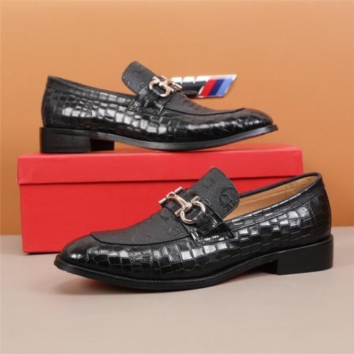 Ferragamo Leather Shoes For Men #845406