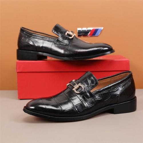 Ferragamo Leather Shoes For Men #845407